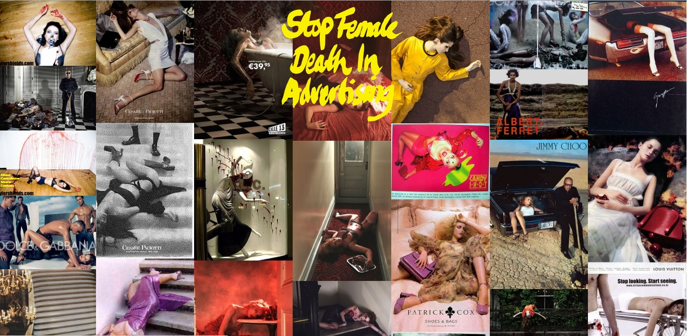death to women in advertising an ads essay qu 7843 ng c aacute o ajc front page of the official website stop female death in advertising