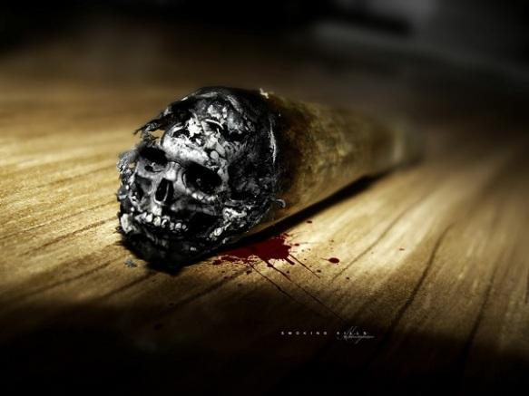 Thuốc lá chính là tử thần đưa bạn đến với tử thần nhanh hơn