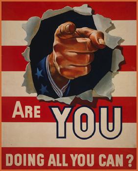 """Hoa Kì 1942(tuyển quan tham gia thế chiến II): """"Bạn đã làm tất cả những gì bạn có thể?"""""""
